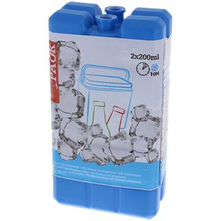 Lot de 2 Blocs réfrigérants 2 x 200 ml