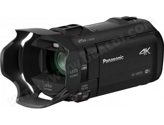 Caméscope 4K Panasonic HC-VX870