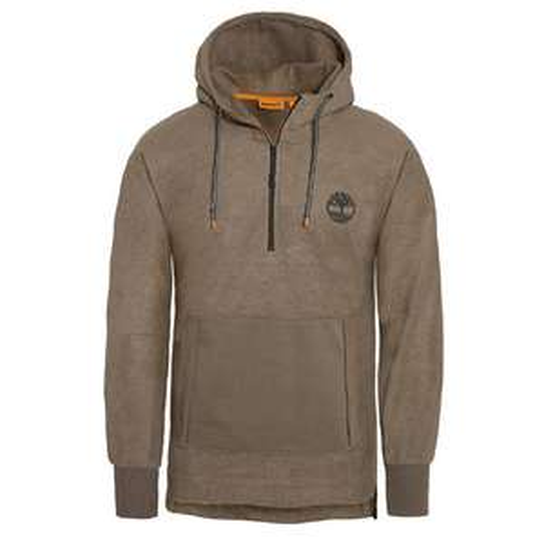 Sweatshirt Homme Oversized Hooded - Beige