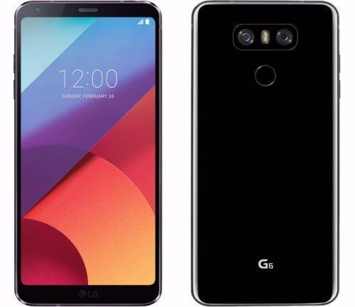 "Smartphone 5.7"" LG G6 Noir - 32 Go + 14,80€ en Super Points"