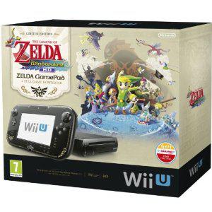 Bundle console Nintendo Wii U Premium 32 Go  - Zelda Wind Waker HD
