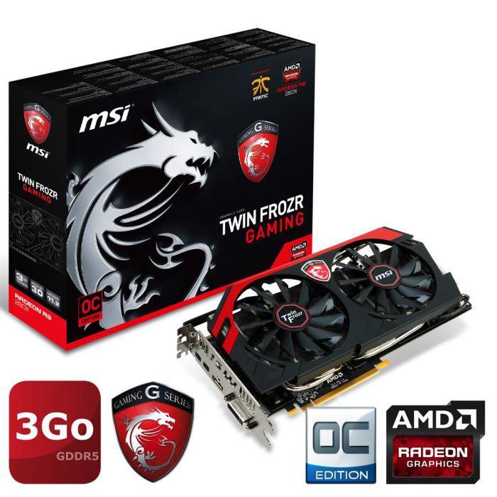 Carte graphique MSI AMD Radeon R9 280X GAMING 3Go
