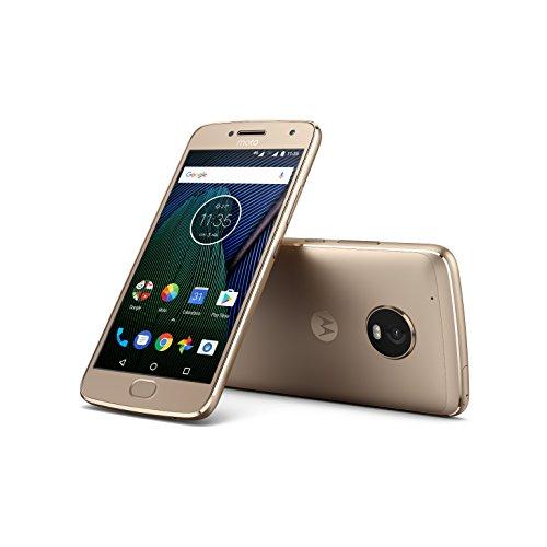 """Smartphone 5.2"""" Lenovo Moto G5 Plus Dual SIM Doré - Full HD, RAM 3Go, 32Go, Snapdragon 625"""