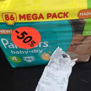 Mega Pack de 86 couches Pampers Taille 4 -  Givors (69)