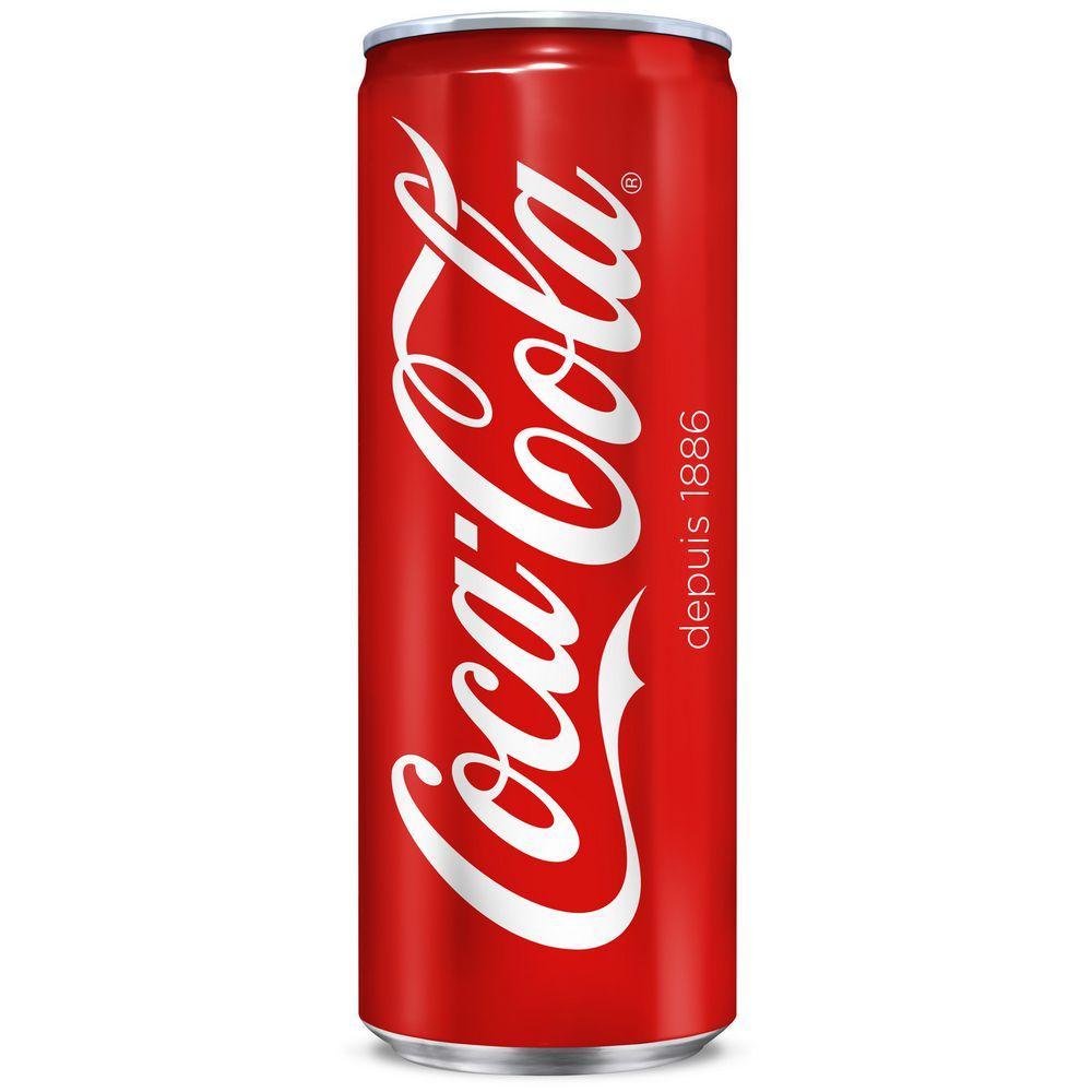 Canette de Coca-Cola - 33cl