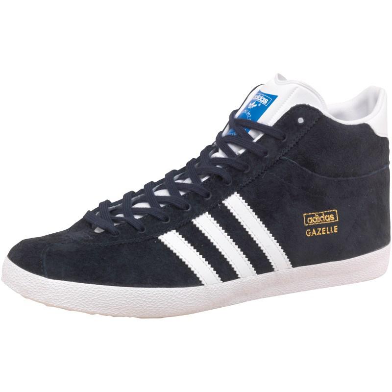 Baskets montantes Adidas Gazelle OG - Bleu marine