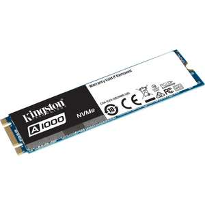 SSD M.2 NVMe Kingston A1000 (Type 2280) - 240 Go