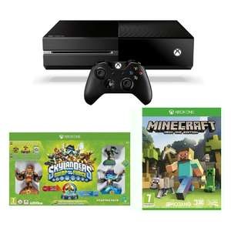 Console Xbox One 500 Go + Minecraft + Skylanders Swap Force