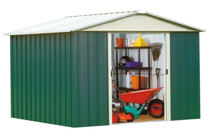 Abri de jardin métal YardMaster - en métal, 7.90 m²