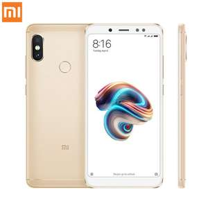 "Smartphone 5.99"" Xiaomi Redmi Note 5 - full HD+, SnapDragon 636, 4 Go de RAM, 64 Go, 4G, Or (B20)"