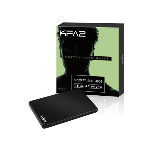 "SSD interne 2.5"" KFA2 Gamer L (Mémoire MLC) - 480 Go"