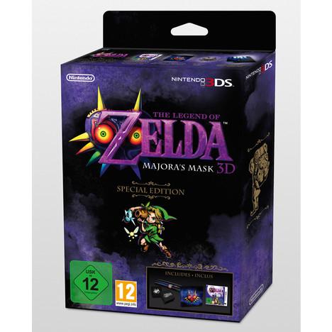 The Legend of Zelda : Majora's Mask 3D Edition Limitée sur 3DS