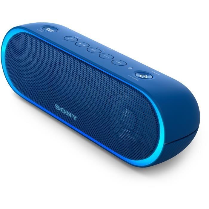 Enceinte Sans-fil Sony SRS-XB20 Bleu - Bluetooth