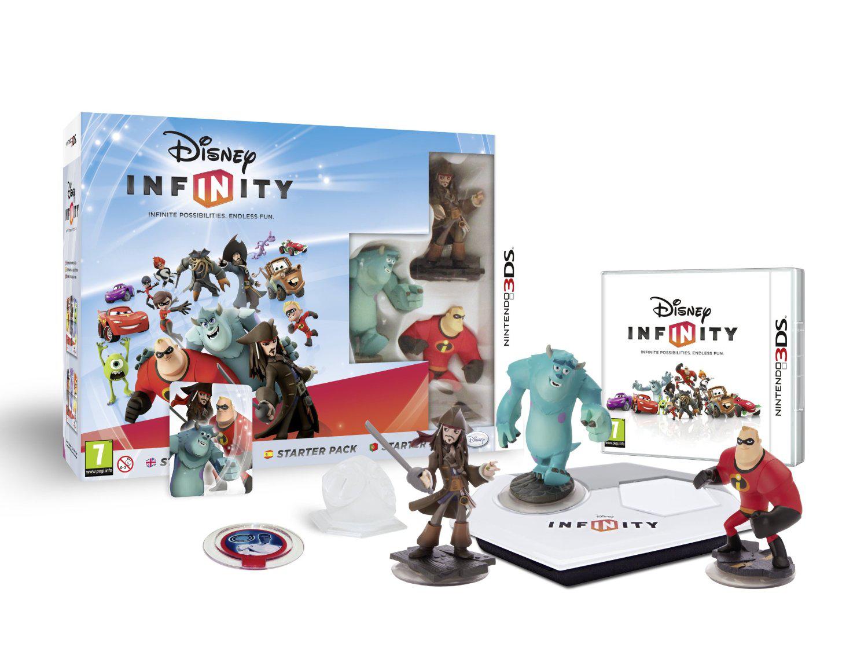 Jeu Nintendo 3DS - Disney Infinity : Pack de Démarrage