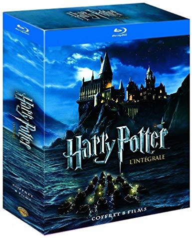 [Prime] Coffret Blu-Ray Harry Potter - l'Intégrale des 8 Films - Le monde des Sorciers de J.K. Rowling