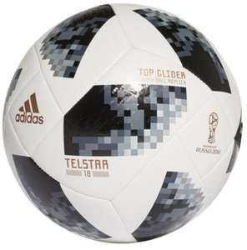 [CDAV] Ballon Adidas Performance FIFA World Cup 2018 Blanc et Noir - Taille 5