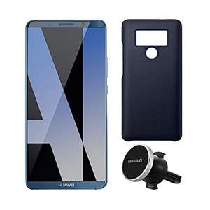 "[Prime DE] Smartphone 5.9"" Huawei Mate 10 Pro 128 Go + Cover magnétique + support voiture"