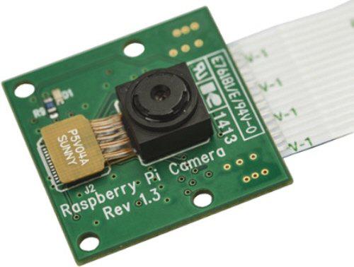 Carte Caméra 5 MP pour Raspberry Pi