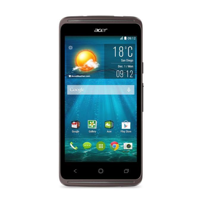 "Smartphone 4.5"" Acer Liquid Z410 4G - Noir (avec ODR 30€)"