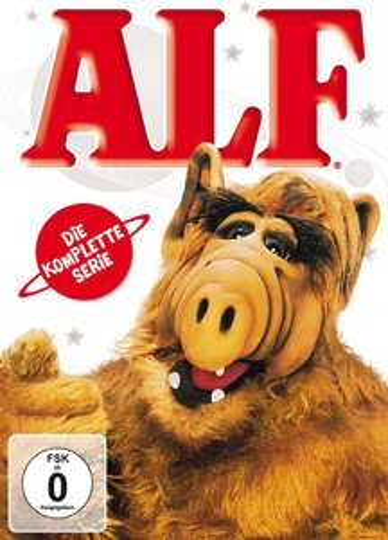 Coffret 16 DVD Intégrale Alf (Audio et STFR)