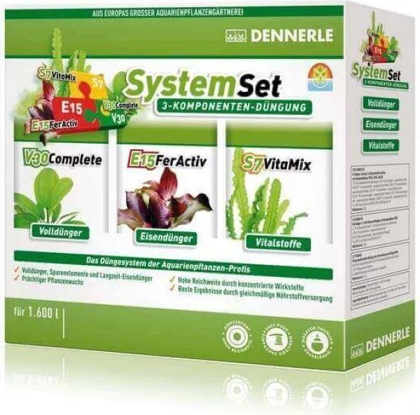 Kit engrais pour plantes Perfect Plant System Dennerle -  E15, V30 et S7