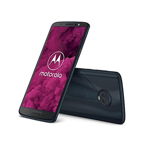 """[Prime DE] Smartphone 5,7"""" Motorola Moto G6 Bleu - 64 Go, 4 Go Ram"""
