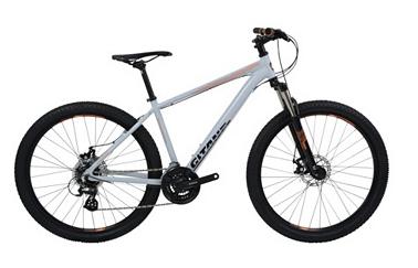 Gitane Vélo pour adulte Kobalt Altus 21 disc - 21 vitesses - cadre aluminium,  gris (Plusieurs tailles)