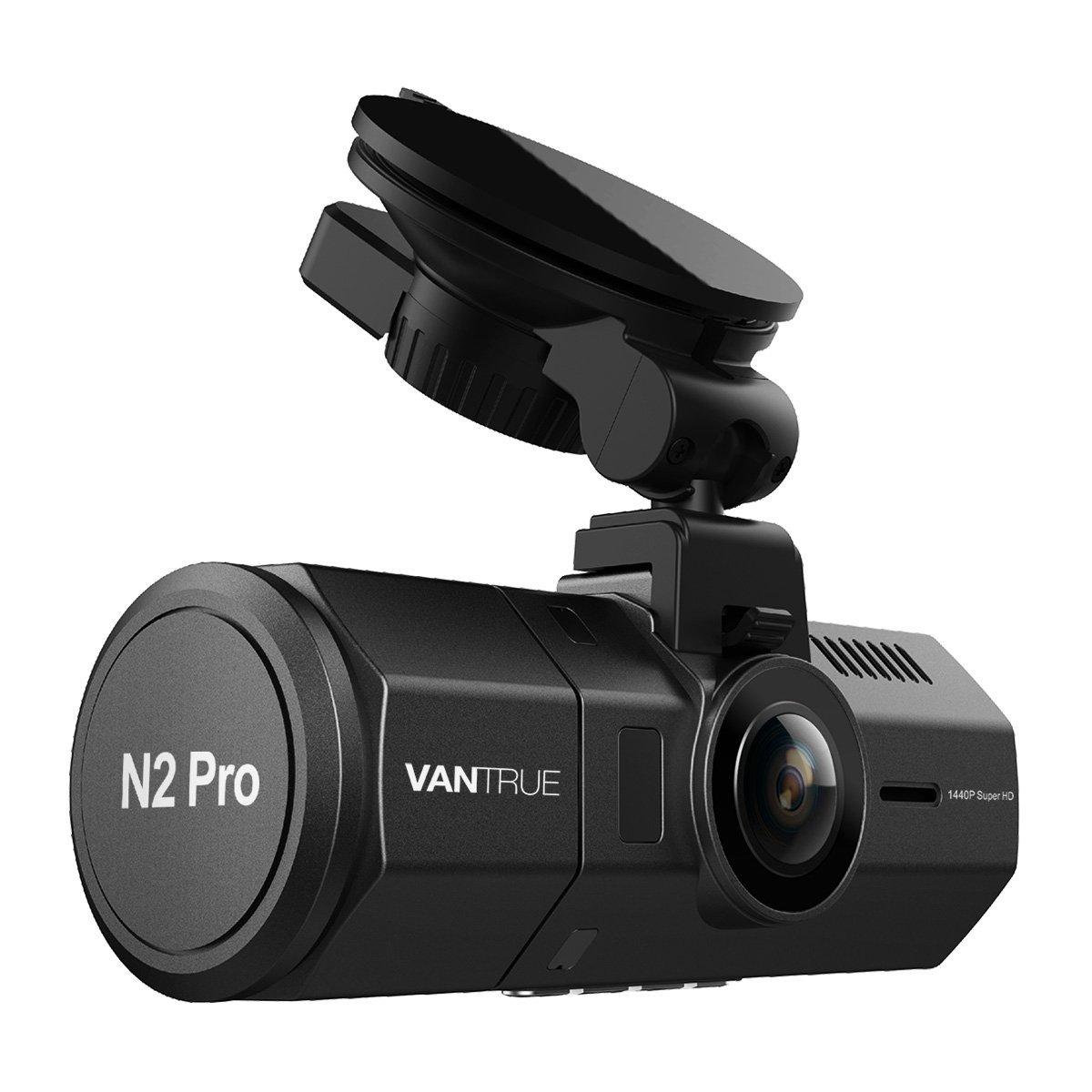 """Caméra embarquée 1.5"""" Vantrue N2 Pro - 2.5 K, 1440p, Vision Nocturne, Détection des Mouvements (vendeur tiers)"""