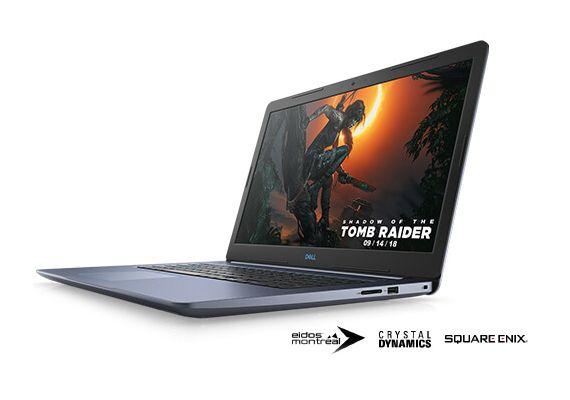 """PC Portable 17"""" Dell G3 -  i7-8750H, GTX-1060, 16 Go de RAM, 2 To + 256 Go en SSD, Windows 10"""
