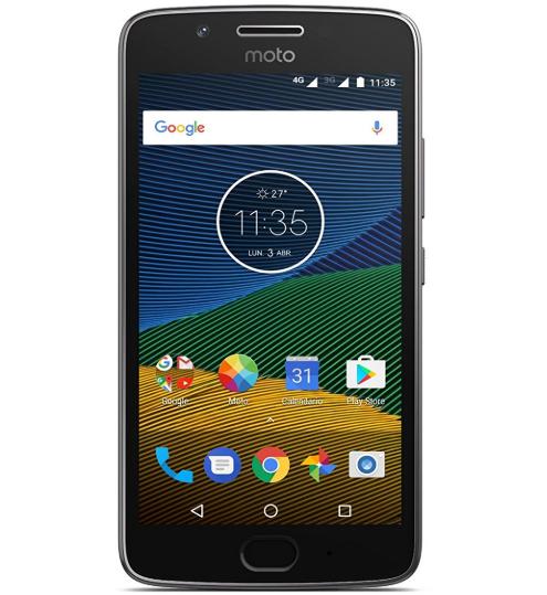 "Smartphone 5"" Motorola Moto G5 - Full HD, SnapDragon 430, 3 Go de RAM, 16 Go - Gris ou Or"