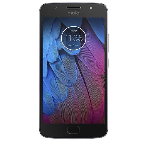 """Smartphone 5,2"""" Motorola Moto G5S - Full HD, S430, 3Go de RAM, 32Go de ROM, Double Sim, Gris"""
