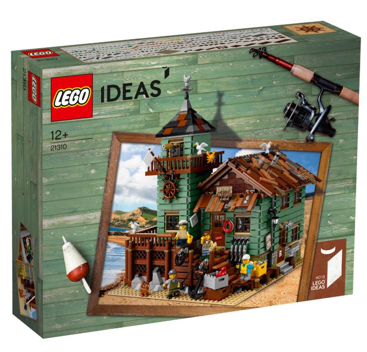 Lego Ideas - Le vieux magasin de pêche (21310)