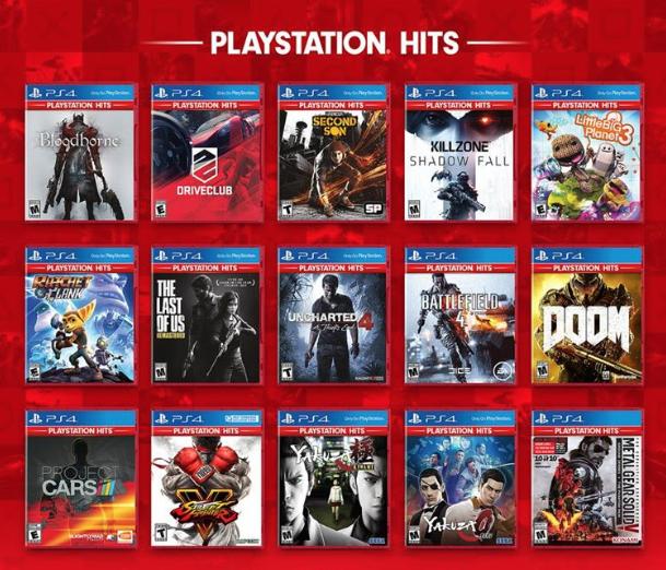Lot de 3 jeux vidéo sur PS4 au choix parmi une sélection pour 49.99€ (Frontaliers Saturn Luxembourg)