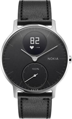 Un Bracelet en cuir offert pour l'achat d'une montre hybride Nokia Steel HR et Steel