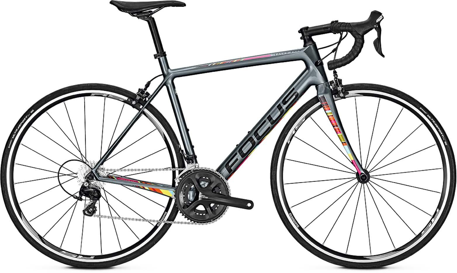 Vélo de course FOCUS Izalco Race 105 - Gris (mhw-bike.fr)
