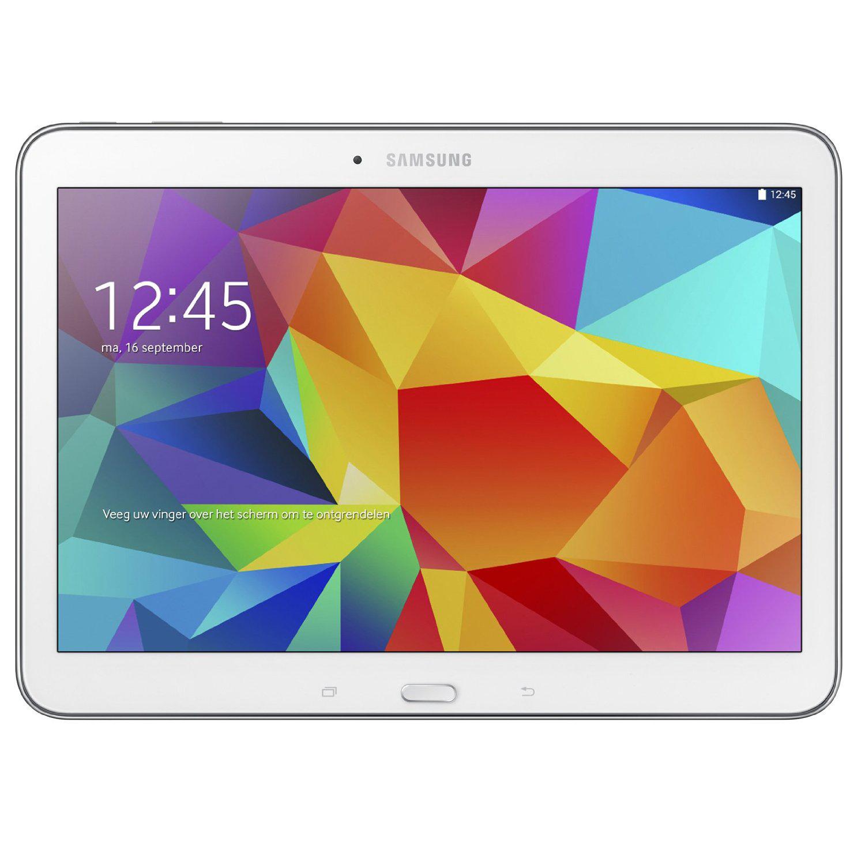 """Tablette 10,1"""" Samsung Galaxy Tab 4 16 Go Blanche"""