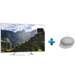 "TV 50"" Panasonic TX-50EX700E (4K UHD, LED, Smart TV) + assistant vocal Google Home Mini"