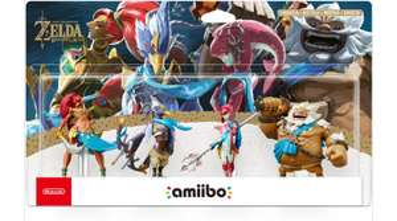 Pack de 4 figurines Nintendo Amiibo Nintendo : Prodiges Zelda Breath of the Wild