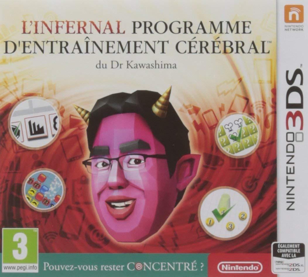 Jeu L'infernal programme d'entraînement cérébral du Dr Kawashima : Pouvez-vous rester concentré ? sur Nintendo 3DS