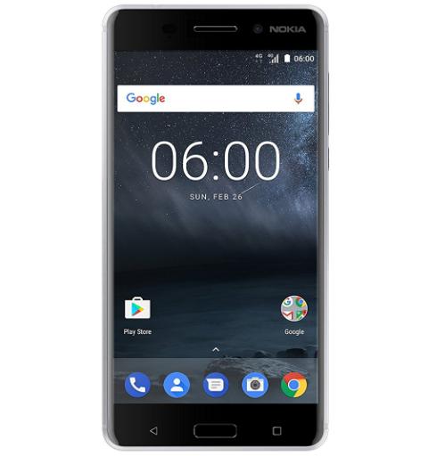 """Smartphone 5.5"""" Nokia 6 - 3Go de Ram, 32Go, 16 Mégapixels"""