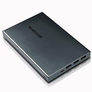Batterie externe Swees 25600 mAh 3 ports USB