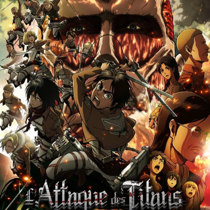 L'attaque des Titans - Saisons 1 et 2 visionnables Gratuitement (Numérique - Wakanim.tv)