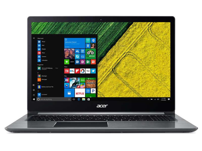 """PC portable 15.6"""" full HD - Acer Swift 3 SF315-51-84T0 - i7-8550U, 8 Go de RAM, 256 Go en SSD (+ 70€ en bon d'achat)"""