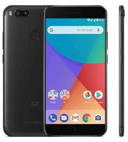 "Smartphone 5.5"" Xiaomi Mi A1 - SnapDragon 625, 4 Go de RAM, 32 Go, 4G (B20), Noir"
