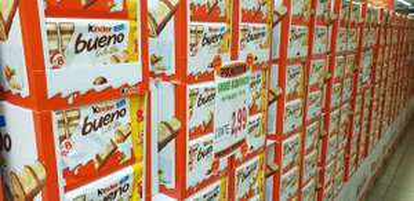 Paquet de 8 Kinder Bueno White - à Promo Marché - Bétheny (51)