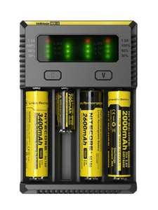 Chargeur de batteries Nitecore New i4 - 4 baies