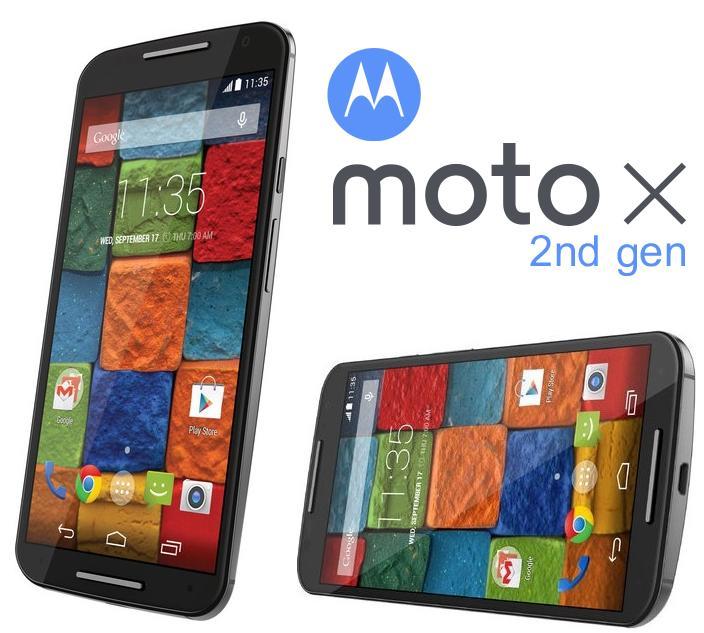 """Smartphone 5,2"""" Motorola Moto X 2ème génération - Noir"""