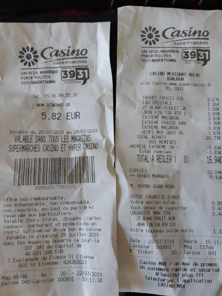 Sélection de glaces en promotion -  Ex : 3 paquets Glace en cône Nestlé Extreme (via 50% en bon d'achat)