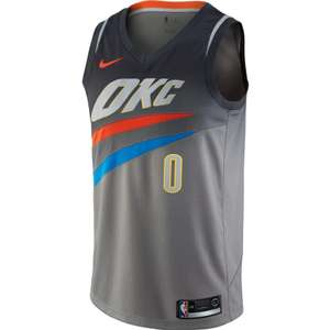Sélection de maillot Nike City Swingman NBA en soldes - Ex : OKC Thunder - Russel Westbrook