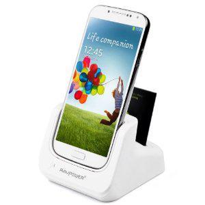 Station d'accueil - Dual Chargeur Dock pour Samsung Galaxy S4/S5